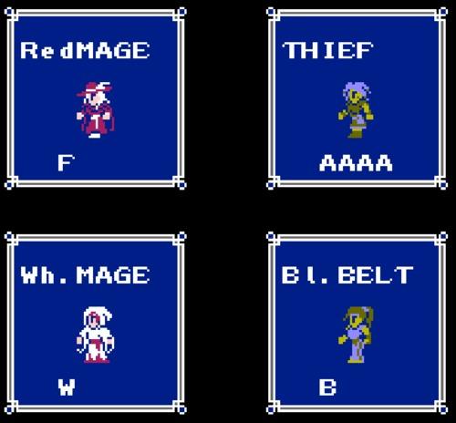 Final Fantasy Women of Light ROM hack