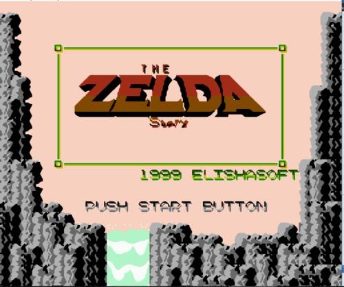 Zelda Story Title
