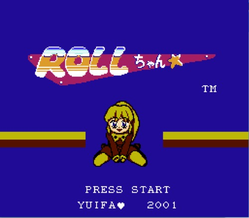 Roll Chan Title Screen