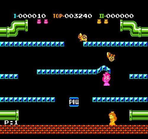 Mario Bros female rom hack