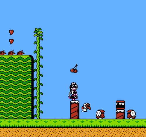 Super Mario Bros 2 Bowsette hack