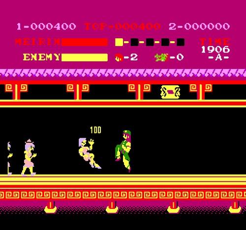 Spartan X NES female rom hack