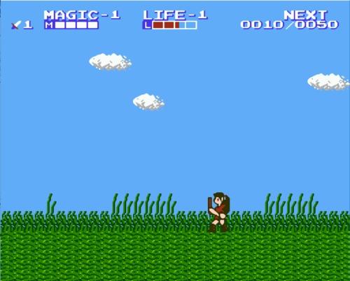 Legend of Zelda 2 ROM hack