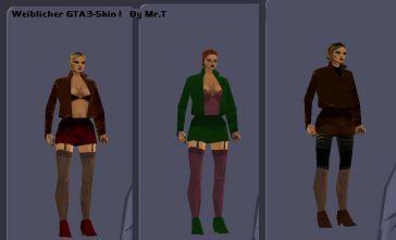 Grand Theft Auto III female skin