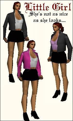 GTA 3 female mod