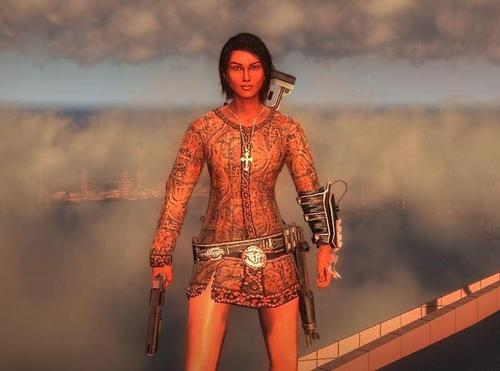 Just Cause 2 female Bolo skin
