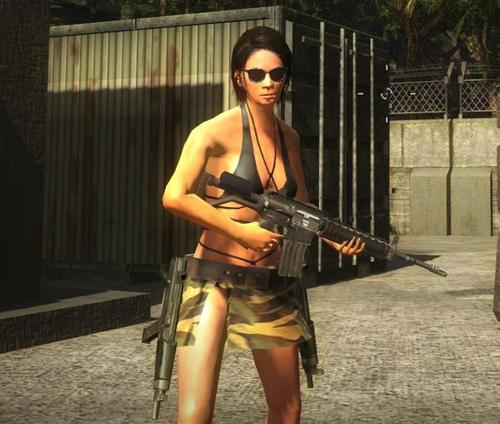 Just Cause 2 female mod
