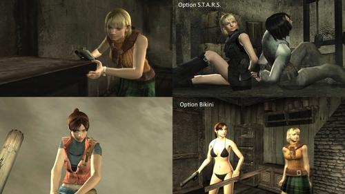 Resident evil 4 Claire Ashley mod