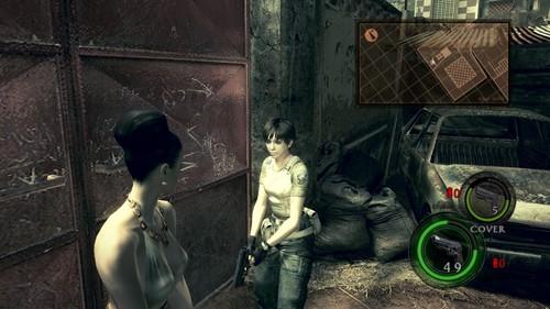 Resident evil female skin mod