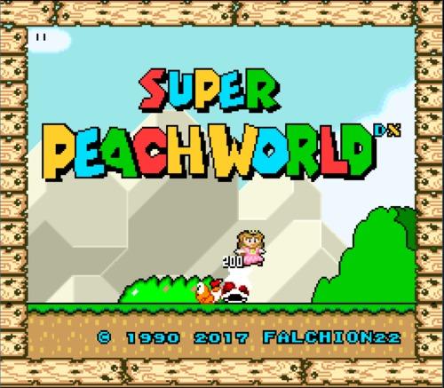 Super Mario World peach ROM hack