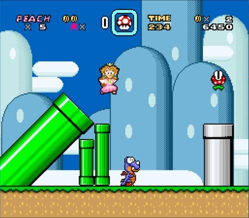 Super Mario World female ROM hack