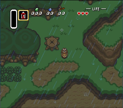 Legend of Zelda: A Link to the Past female ROM hack