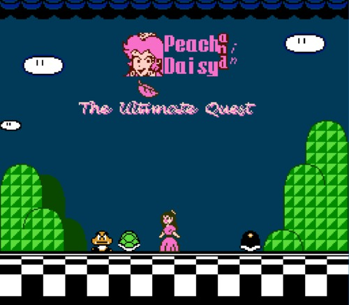 Peach & Daisy Ultimate Quest title screen