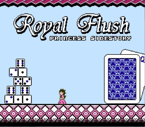 Royal Flush title screen