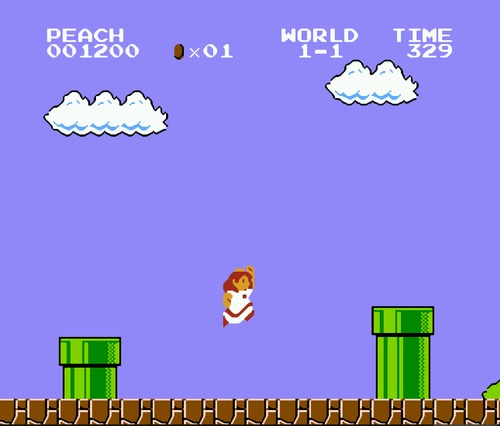 Super Mario Bros. Peach Hack