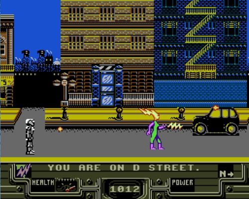 Defenders of Dynatron City Screenshot