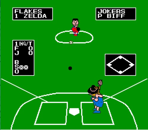 Dusty Diamond's All-Star Softball gameplay