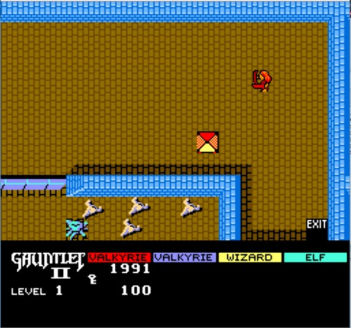 Gauntlet II gameplay
