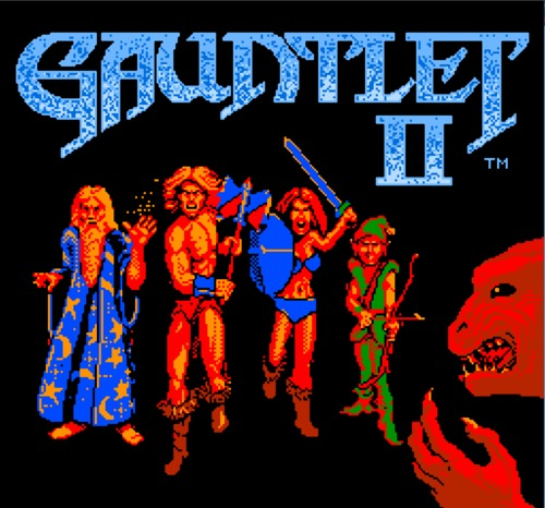 Gauntlet II title screen