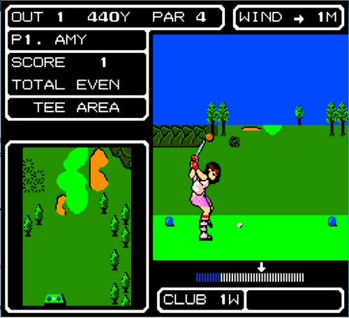 Lee Trevino's Fighting Golf gameplay
