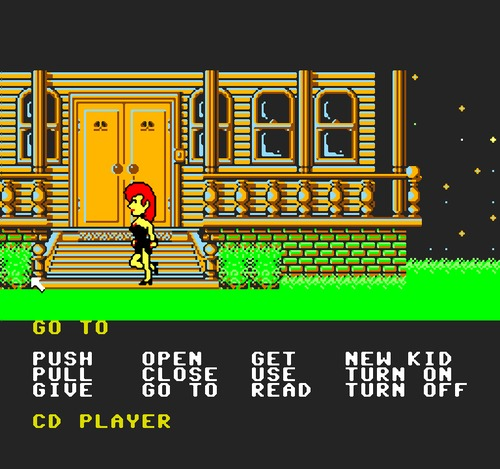 Maniac Mansion gameplay