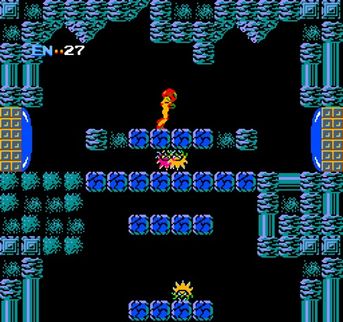 Metroid NES gameplay