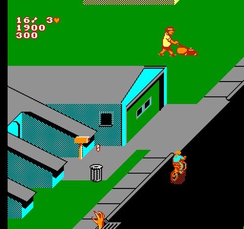 Paperboy 2 gameplay