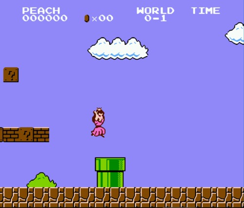 Mario Bros Peach ROM Hack