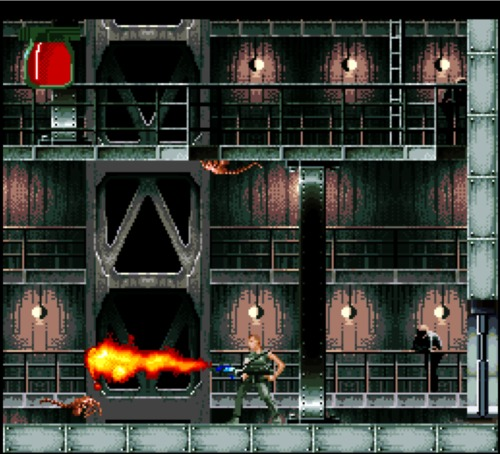 Alien 3 SNES gameplay
