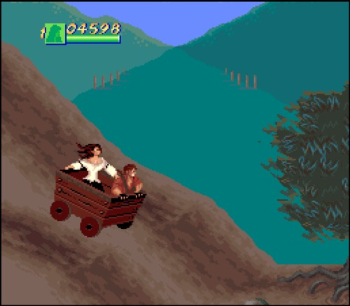 Cutthroat Island cart driving