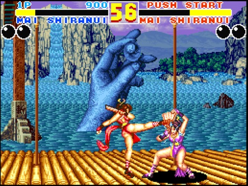 Fatal Fury 2 Mai gameplay screenshot