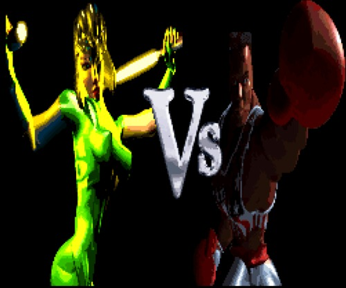 Killer Instinct Black Orchid VS screen