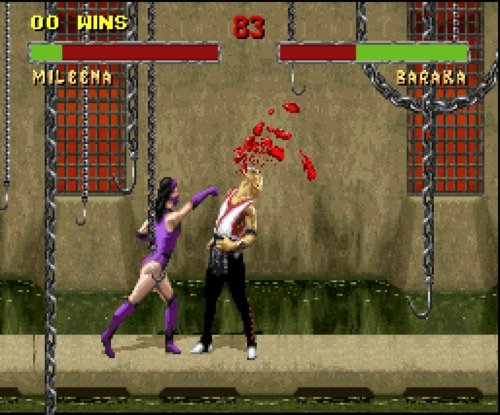 Mortal Kombat II Mileena gameplay
